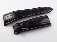 Audemars Piguet Millenary 24mm Black Alligator Strap OEM