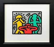"KEITH HARING ""POP SHOP III (3)"" 1989 