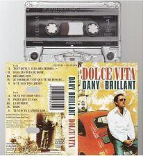 DANY BRILLANT cassette K7 tape DOLCE VITA
