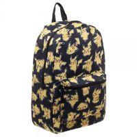 Pokemon Pikachu Ash Ketchum Nintendo Kanto Sublimated Backpack BQ32I8POK