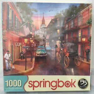 SPRINGBOK Puzzle Bourbon Street 1000 Piece Jigsaw FREE SHIPPING