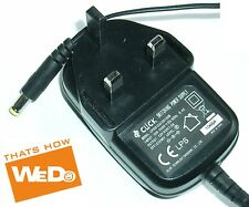 CLICK SWITCHING POWER ADAPTER CPS012A120100B 12V 1A UK PLUG