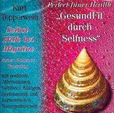 HÖRBUCH-CD NEU/OVP - Selbst-Hilfe bei Migräne von Kurt Tepperwein
