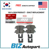 OEM GENUINE REAR BRAKE PADS KIT FOR 17-18 KIA FORTE FORTE 5 58302-A7B31