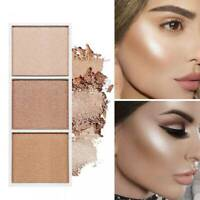 Highlighter Makeup Palette  Face Contour Powder Bronzer Make Up Blusher Palette