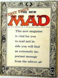 MAD Magazine #24 July 1955 VERY GOOD! 4.0 .99 Start! SUPER SOLID! GLOSSY Pages!