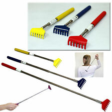 EXTENDABLE BACK SCRATCHER EXTENDING MASSAGER TELESCOPIC CLAW PORTABLE POCKET