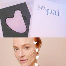 Pai Rose Quartz Gua Sha Heart Shape Retail $50 New in Box With Instructions
