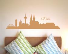 Wandtattoo Köln Skyline 25 Farben 9 Größen Wandaufkleber Wandsticker Sticker