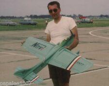 "Model Airplane Plans (UC): NOVI I 55""ws Stunt for .35-.40 Engine by Dave Gierke"