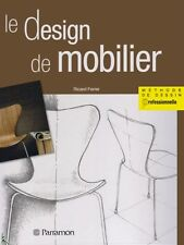 Le design de mobilier - Furniture design, French book