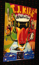 T.J. Kirk If Four Was One 11x17 promo poster acid jazz funk fusion