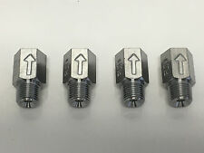 """Carpet Cleaning Wand Jet Extenders w/ Check Valves - 1/2"""" - Set of 4 FREE SHIP!!"""