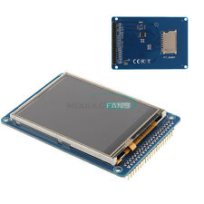 "3.2""inch TFT LCD Display Module + Touch Panel & SD Card Cage for Arduino"