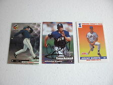 LOT OF 240 JEREMY BURNITZ CARDS W/ 1 AUTOGRAPHED CARD & 30 ROOKIE CARDS