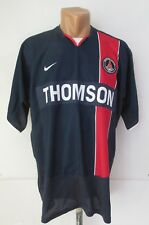 Psg Paris Saint Germain 2003/2004 Home Shirt Soccer Jersey Maillot France Nike L