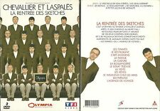 CHEVALLIER ET LASPALES A L' OLYMPIA ( 2 DVD ) SPECTACLE COMIQUE / COMME NEUF