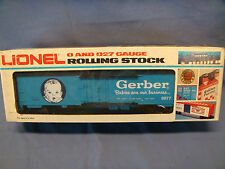 Lionel Gerber Baby Food Reefer 6-9877 O Scale New In Box