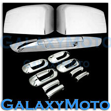 03-06 Ford Expedition Chrome Mirror+4 Door Handle+Lower Tailgate Liftgate Cover