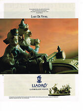 PUBLICITE ADVERTISING 024   1990   LLADRO   porcelaine vivante