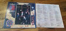 Duran Duran Seven And The Ragged Tiger Vinyl Record LP w lyric inner sleeve POP