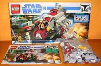 Lego 8019 Star Wars Republic Attac Shuttle OVP Anleitung ohne Figuren