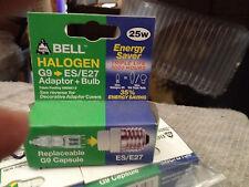 Il più economico? 2 x Bell ES/Lampadina alogena e27 g9 e Adattatore/capsule 25w £ 9 consegna espressa