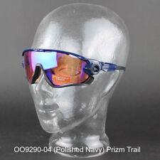 Occhiali e monolente da ciclismo con montatura in blu Oakley
