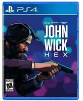 John Wick Hex Playstation 4 PS4 Brand New Sealed