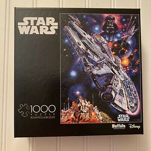 Buffalo Games Star Wars 1000 pc Puzzle Millenium Falcon You're All Clear Kid New