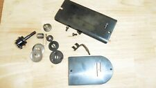 "SINGER 98K SO CALLED ""GOLDEN SINGER"" SET OF SPARES:face plate,throat plate etc"