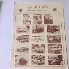 The Mile Post Magazine Milestone Car Society September/October 1977 052817nonrh