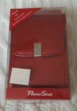 Canon Powershot Leather Case PSC-1050 RED - Brand New