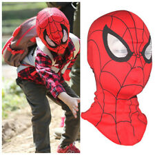 Super Heroes Spiderman Mask Adult Kid Child Halloween Costume Cosplay Party Prop