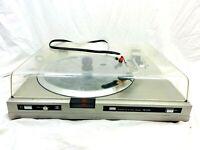 1980's Vintage Sansui Belt Drive FR-D25 Turntable Partly Tested (see Notes)
