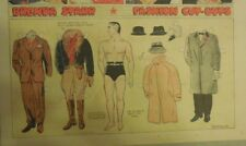Brenda Starr Sunday with Large Uncut Paper Dolls from 11/2/1941 Full Size Page