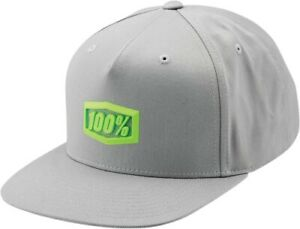 100% Enterprise Snapback Hat Cap Motorcycle Street Bike Dirt Bike