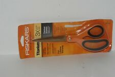 "Fiskars 01-004244J Premier Softgrip Titanium Straight Scissor, 8"" 020335026568"