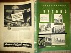 VINTAGE FEB 1948 ARCHITECTURAL RECORD APARTMENT BUILDINGS MODERN DESIGNS HISTORY