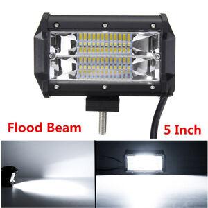 1x 5Inch 24LED Car Truck Work Light Bar Driving Fog Flood Beam Lamp With Bracket