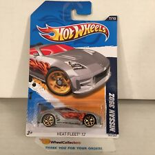 Nissan 350Z #157 * SILVER * 2012 Hot Wheels * A15