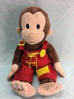Curious George Plush Stuffed Animal w/ Overalls (15)