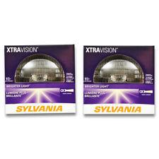 Sylvania XtraVision High Beam Low Beam Headlight Bulb for Chevrolet C20 K20 pu