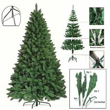 Premium 6FT Green Artificial Christmas Xmas Tree Pine Metal Stand Tips Spruce