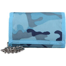 Mens / Boys / Childrens Camouflage / Army Style Ripper Wallet with Chain