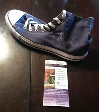 SNOOP DOGG SIGNED BLUE CONVERSE CHUCK TAYLOR ALL STAR SHOE JSA/COA K25915