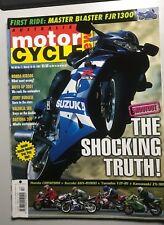 AMCN 1/01 KawasakiZX9R Honda CBR929RR Suzuki GSX-R1000 Yamaha YZF R1 test