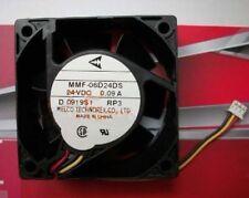 MITSUBISHI MMF-06D24DS-RP3 60x25mm Fan 24V 0.09A  537-1