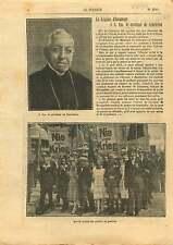 Légion d'Honneur Cardinal de Cabrières / Berlin event Peace 1921 ILLUSTRATION
