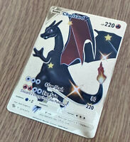 CHARIZARD V GOLD METAL CARD CHAMPIONS PATH 079/073~Pokemon Style Collectable 🔥